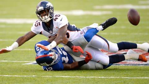 CB Dominique Rodgers-Cromartie, Broncos