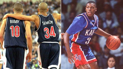 6 -- 1997: (4) Arizona 85, (1) Kansas 82