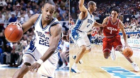 7 -- 2002: (5) Indiana 74, (1) Duke 73