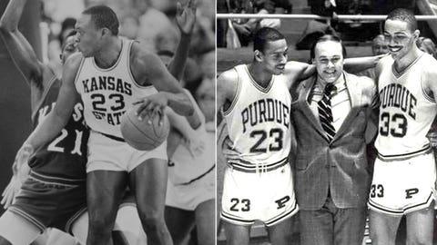 14 -- 1988: (4) Kansas State 73, (1) Purdue 70