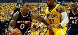 Three Hits: Hawks stun Pacers to take Game 1