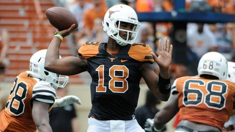 Loser: Tyrone Swoopes, QB Texas