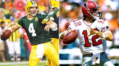 1992: Falcons can't see the forest through the trees, bail on Brett Favre after one year