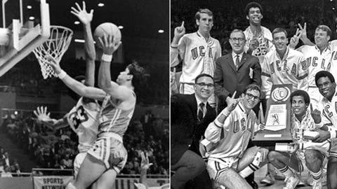 1969: UCLA 85, Drake 82