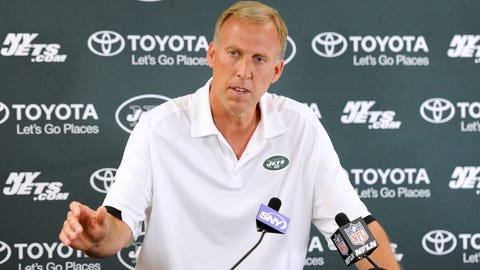 John Idzik -- New York Jets