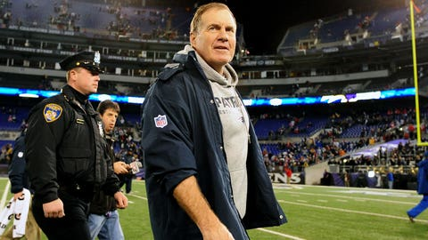 Bill Belichick -- New England Patriots