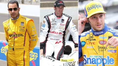 Row 2: Castroneves/Pagenaud/Andretti
