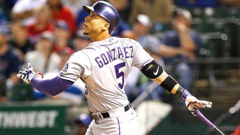 Gonzalez enjoys Arroyo matchup