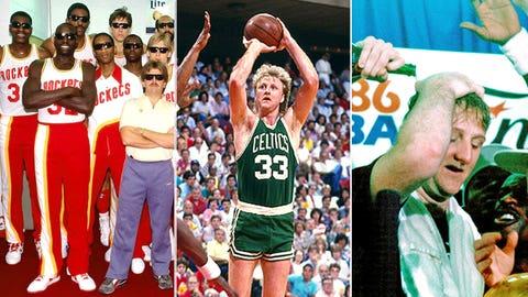 Larry Bird -- Game 6 of 1986 Finals