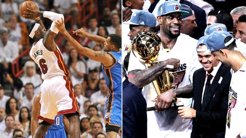 LeBron James -- Game 5 of 2012 Finals