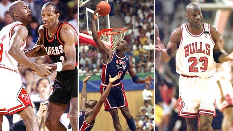 Michael Jordan -- Game 1 of 1992 Finals