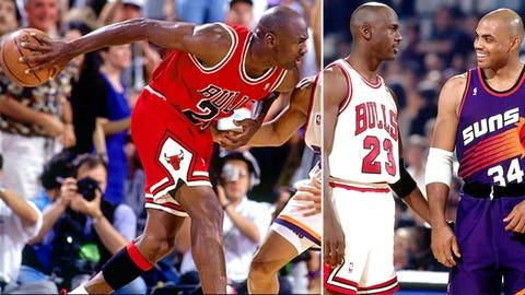 Michael Jordan -- Game 4 of 1993 Finals