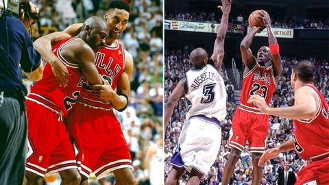 Michael Jordan -- Game 5 of 1997 Finals