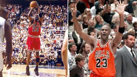 Michael Jordan -- Game 6 of 1998 Finals