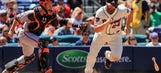 Three Cuts: Braves' RISP troubles continue as Giants complete sweep