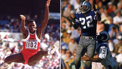 Carl Lewis (World-Class Track Athlete)