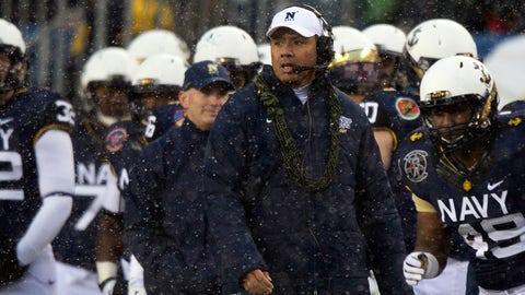 Ken Niumatalolo, Navy