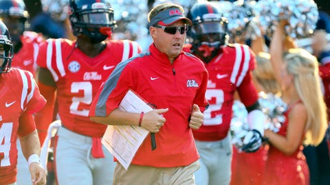 #11 -- Hugh Freeze, Ole Miss