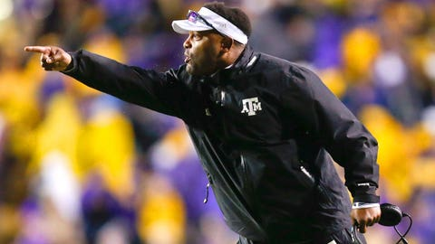 #5 -- Kevin Sumlin, Texas A&M