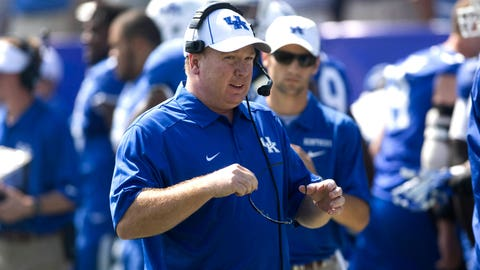 #13 -- Mark Stoops, Kentucky