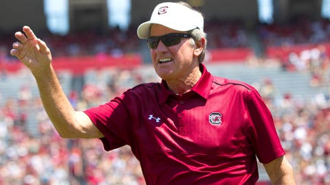 #3 -- Steve Spurrier, South Carolina