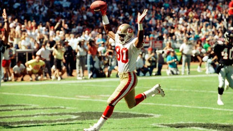 Jerry Rice, 49ers (1985-86)