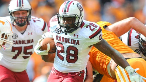 No. 12: Mike Davis, RB, South Carolina