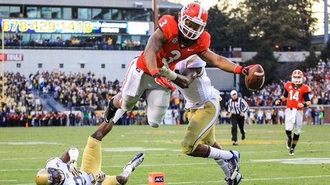 No. 3: Georgia Bulldogs