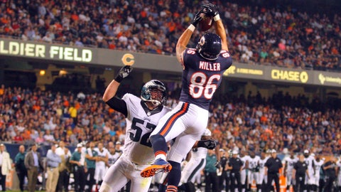 Stock UP: Zach Miller, Chicago Bears -- Tight End