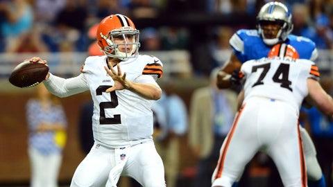 Stock UP: Johnny Manziel, Cleveland Browns -- Quarterback