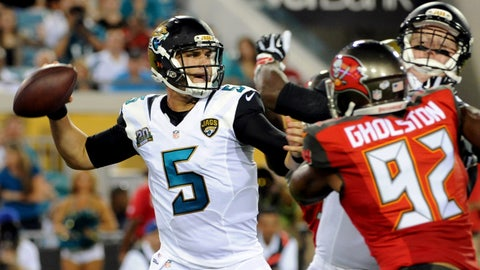 Stock UP: Blake Bortles, Jacksonville Jaguars -- Quarterback