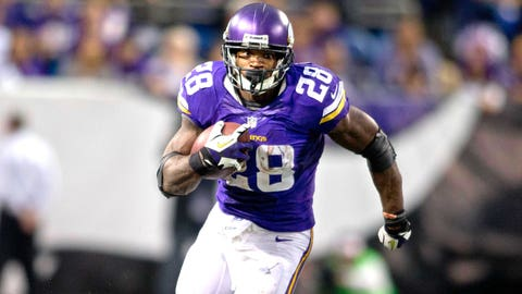 Running Back: Adrian Peterson, Vikings