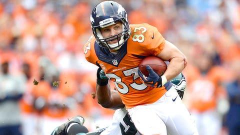 Broncos WR Wes Welker