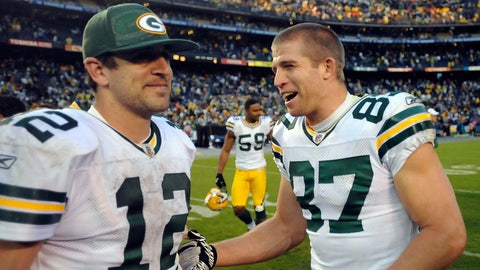 Aaron Rodgers-Jordy Nelson, Packers