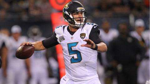 Stock UP: Blake Bortles, Jacksonville Jaguars - Quarterback