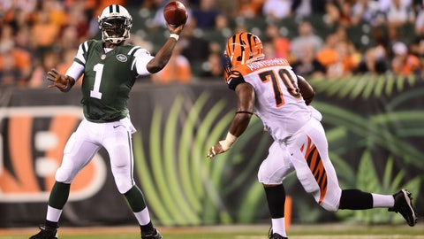 Stock DOWN: Michael Vick, New York Jets - Quarterback