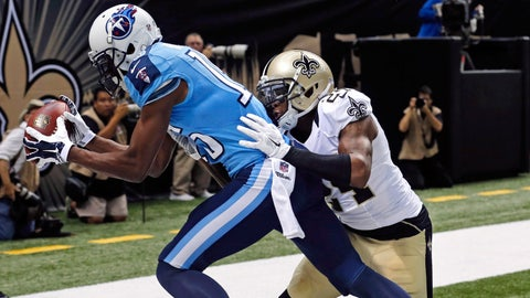 Stock UP: Justin Hunter, Tennessee Titans - Wide Receiver