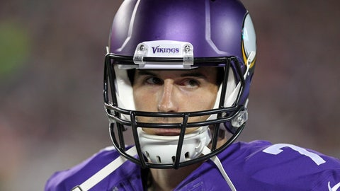 Stock DOWN: Christian Ponder, Minnesota Vikings - Quarterback