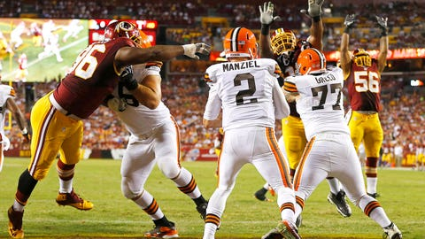 QB Johnny Manziel, Cleveland Browns