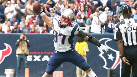 TE Rob Gronkowski, New England Patriots