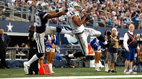 WR Andre Holmes, Oakland Raiders