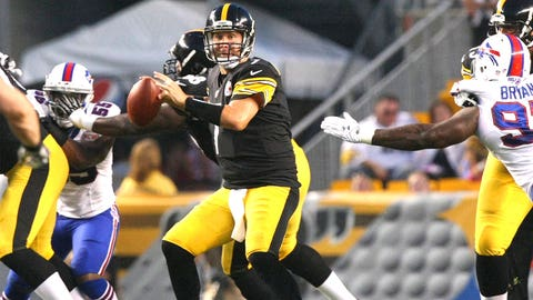 QB Ben Roethlisberger, Pittsburgh Steelers