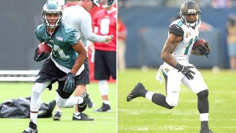 WRs Jordan Matthews, Eagles/Marqise Lee, Jaguars