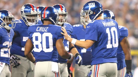 The Giants' quest for a vertical passing game