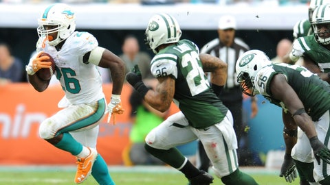 Stock DOWN: Lamar Miller, Miami Dolphins - Running Back