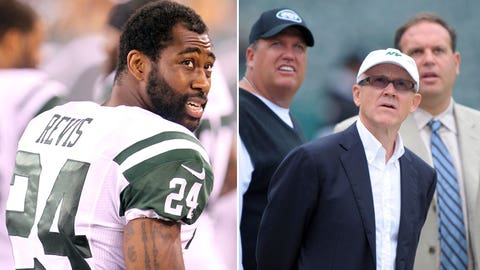 'Revis Island' holdout consumes Jets' entire camp