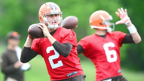 Johnny Manziel Gets His First Taste Of NFL Life