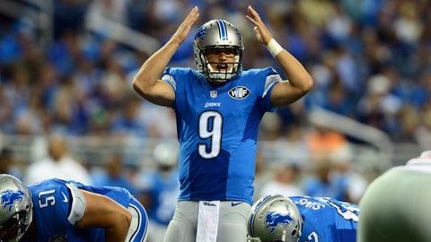 Matthew Stafford, Quarterback -- Detroit Lions