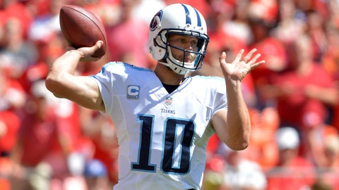 Jake Locker, Quarterback -- Tennessee Titans