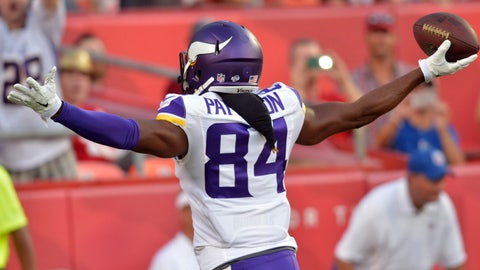 Cordarrelle Patterson, Wide Receiver -- Minnesota Vikings